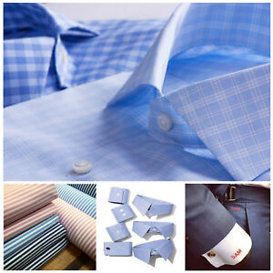 shop for pretty and colorful good reputation Details about 3 x CUSTOM Made to Measure Long & Short Sleeve Business Work  Formal Dress Shirts