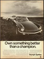 1971 Vintage ad for The Mark III Triumph Spitfire Automobile/Black (031613)