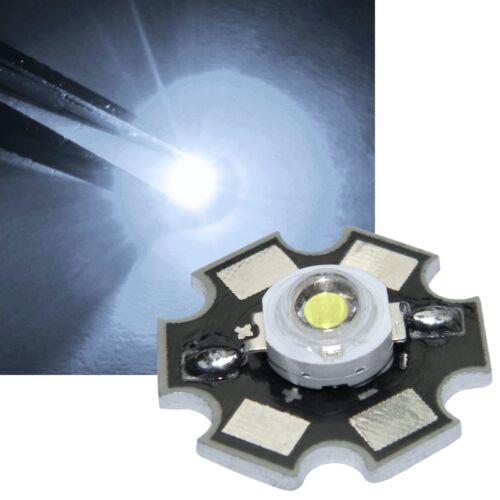 5x HighPower LED 3 Watt auf Star-Platine 700mA 3 W Hochleistungs Chip High-Power