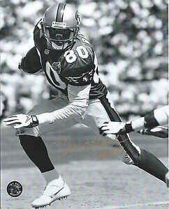 9c6090040b4 Jerry Rice 8x10 Holo Football Ball Photo Signed Autographed HOF BW ...