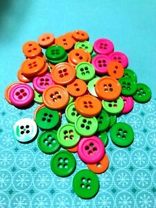 Neon-Findings-Plastic-Novelty-Buttons-DIY-Sewing-supplies-DIY-Crafts