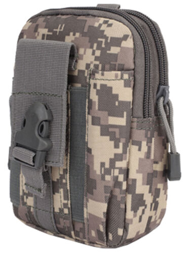 TACTICAL HOLSTER Military Molle Waist Belt Pouch Pack Phone Case Outdoor Bag NEW