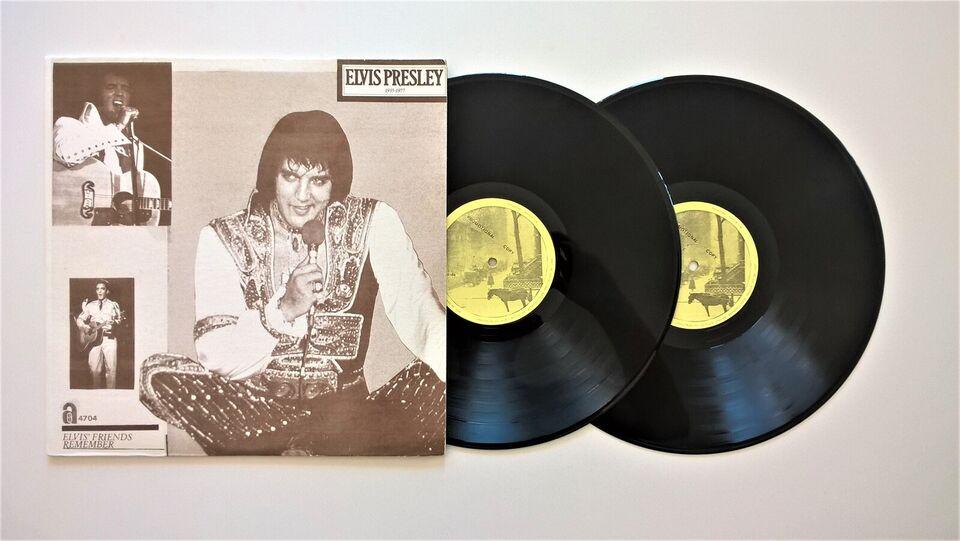 LP, Elvis Presley, Elvis' Friends Remember