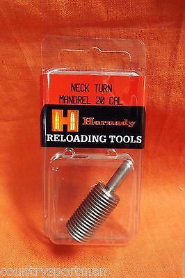HORNADY Reloading Tools 20 Caliber Neck Turn Mandrel #391909