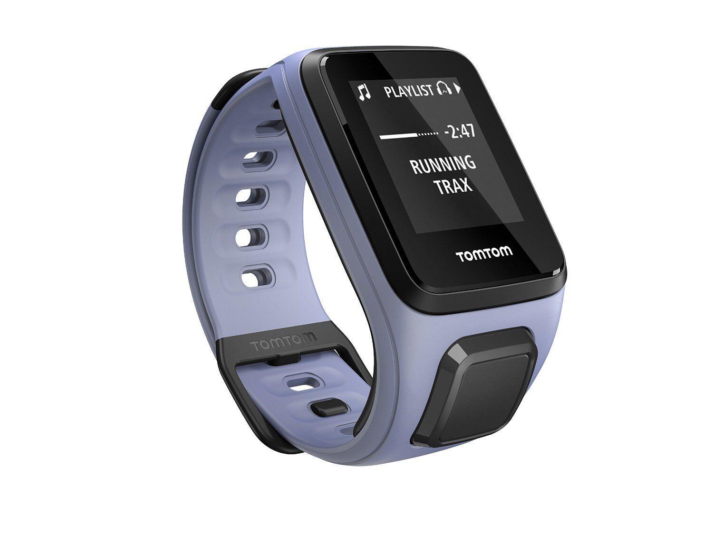 TomTom Spark Multisport + + + Musik Funktion Fitness Laufuhr Schwimmen GPS Uhr Lila 99e083