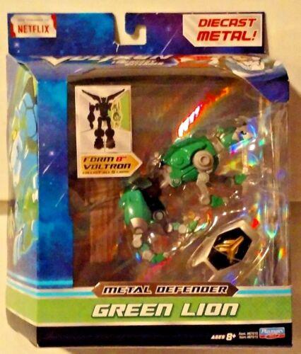 2017 Dreamworks Voltron Legendary Defender Metal Defender Green Lion New MISB