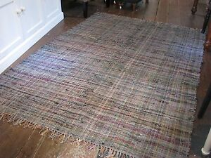 RAG-RUG-LARGE-UNIQUE-VINTAGE-COLOUR-FAIR-TRADE-100-RECYCLED-COTTON-CHINDI-RUGS
