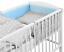 LUXURY-BABY-SOFT-DIMPLE-BEDDING-SET-3-5-6-PCS-BUMPER-PILLOW-DUVET-FIT-COT-120x60 thumbnail 12