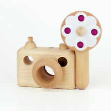 Father's Factory -Say Cheese SC-6 35mm wooden kaleidoscope camera & flash light