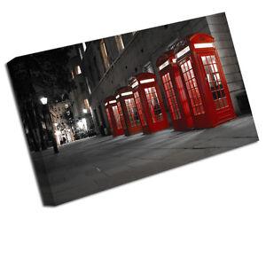 Paysage Urbain Impression Toile Cabine Téléphonique Londonienne Photo Artistique Small - 12 Inch X 8 Inch,medium 16 Inch,large 24 Inch,xlarge 30 20 Inch,xxlarge 36 Inch,xxxlarge 42 Inch,xxxxlarge 48 Inch,sample C