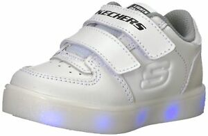 wide selection of designs release info on affordable price Details about Skechers Kids' Energy Lights-90631n Sneaker White Toddler  Size 6