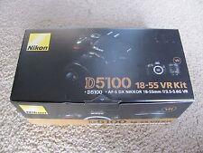 New Nikon D5100 16.2MP DSLR Digital Camera with 18-55mm f/3.5-5.6G VR Zoom Lens