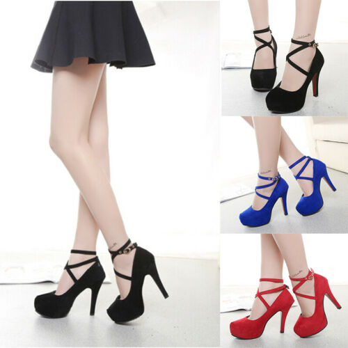 Women shoes Ladies Thin Heels Pumps OversizeCRIT