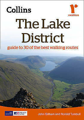 The Lake District (Collins Ramblers Guides)-ExLibrary