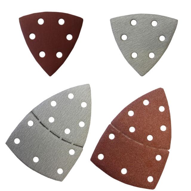 Schleifblätter für Delta- oder Multischleifer mit Klett,93 oder 102 mm