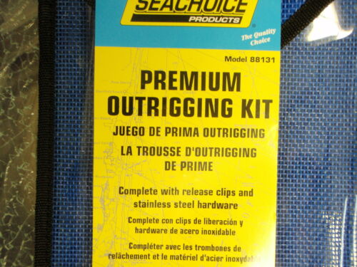 FISHING OUTRIGGER RIGGING KIT 88131 PREMIUM BOAT TROLLING FISH BOATINGMALL