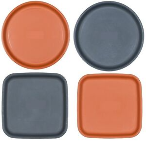 Image Is Loading Round Square Small Large Plastic Plant Pot Saucers