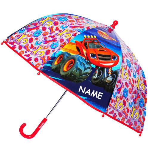 """Paraguas /""""Blaze y los monstruos máquinas-auto/"""" niños paraguas transpar"""