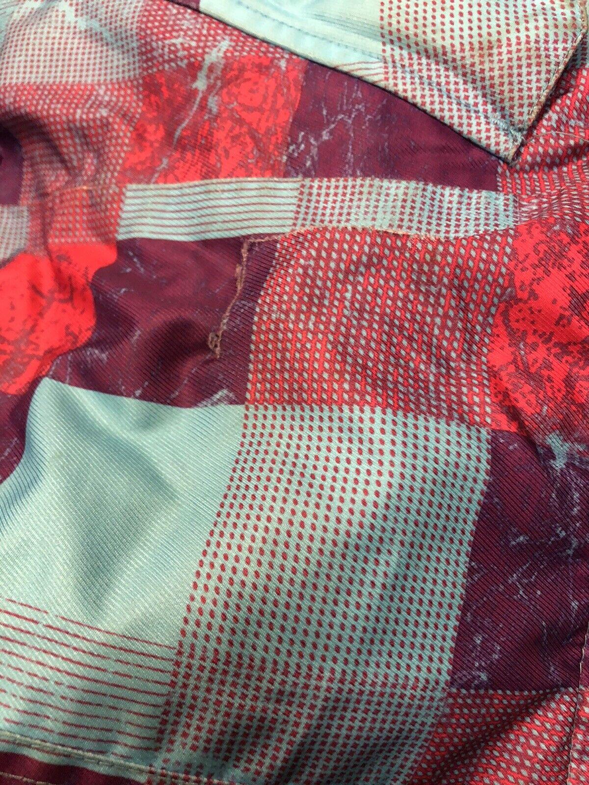 Women's Billabong Multi Color Ski Jacket Coat Sz … - image 4
