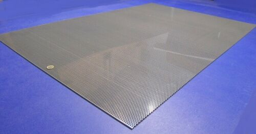 """1//8/"""" Thick x 32/"""" x 48/"""" Staggered PVC Type I Perforated Sheet 1//8/"""" Dia Hole"""