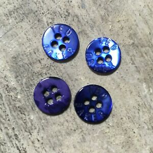 6 x Ted Baker ENDURANCE Genuine Branded Replacement Stone Circular Buttons 2cm