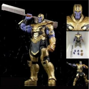 SHF-Marvel-Avengers-Endgame-7-inch-Thanos-PVC-Action-Figure-Toy
