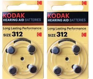 Kodak-8-Paquetes-Oido-Tratamiento-Bateria-Tamano-312-PR41-K312ZA-1-45V-Exp