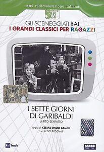 Dvd-Sceneggiati-Rai-del-Risorgimento-I-SETTE-GIORNI-DI-GARIBALDI-nuovo-1967