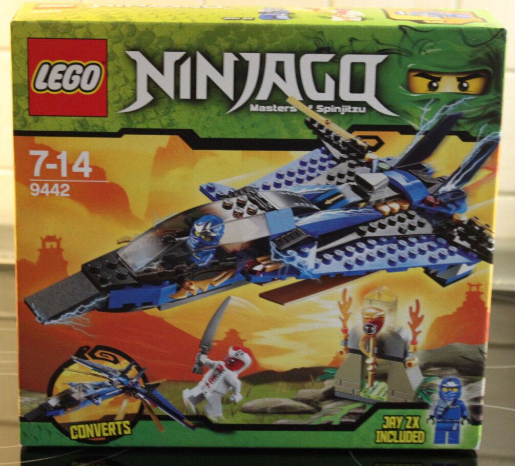 LEGO Ninjago 9442 - Jay`s Storm Fighter Donner-Jet Düsenflieger - Rarität 2012