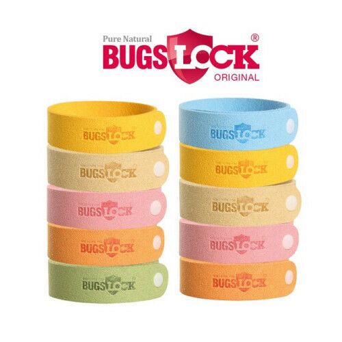 Bugs Lock 6pcs Anti Mosquito Bug Repellent Wrist Band Bracelet Insect Nets