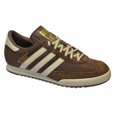 Aggressiv Adidas Originals Beckenbauer Allround Mens Trainers Brown Leather Mens Uk Sizes BüGeln Nicht