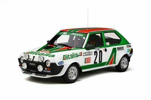 1 18 Otto Mobile OT294 1979 Fiat Ritmo Abarth Tamaño 2 Rallye Monte Carlo