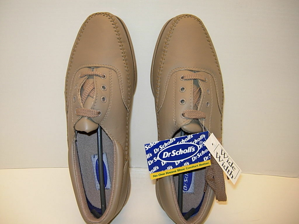 Dr. Scholl's Men's Tan Oxford shoes Sz. 10 1 2 EEE NIB