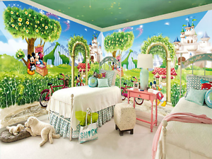 3D Forest Castle Zoo 797 Paper Wall Print Wall Decal Wall Deco Indoor Murals