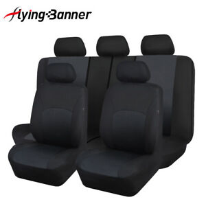 New-car-seat-covers-protectors-washable-breathable-black-Toyota-SUV-truck-van