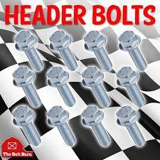 EXHAUST HEADER BOLTS LS1 LSX LS2 LS3 LS6 LS7 GM VORTEC 4.8 5.3 6.0 6.2L KIT#A102
