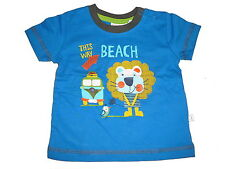 NEU Liegelind tolles T-Shirt Gr. 68 blau mit Löwen Motiv !!