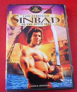 DVD-Movie-Sinbad-of-the-Seven-Seas-1989-Original-English-Version-Lou-Ferrigno