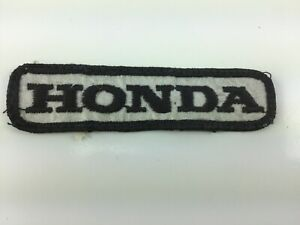 Rare Vintage 1970/'s Honda Motorcycle Biker Vest Jacket Hat Patch Crest Dirt Bike