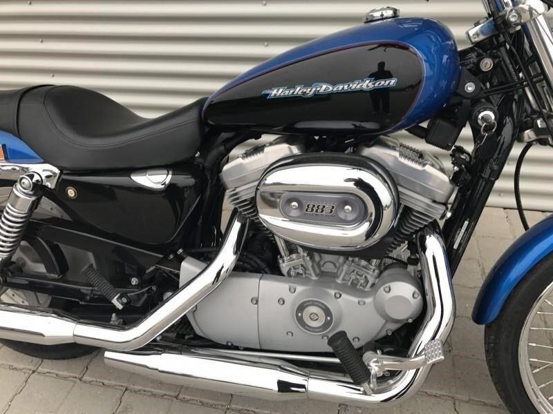 Harley-Davidson, XL883C Sportster Custom, 883