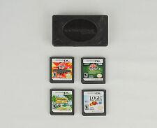 Lot of 4 Nintendo DS Game Cartridges Bakugan Chicken Shoot Logic Machines