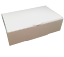 15-Larger-White-Wedding-Party-Cake-Boxes-for-a-single-slice-of-cake-105x65x35mm thumbnail 1
