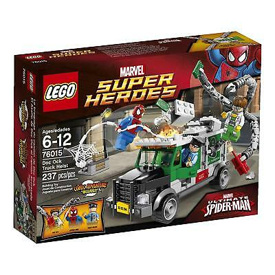 Lego Marvel Super Heroes 76015 Spiderman Doc Ock Truck Heist FREE UK P/&P