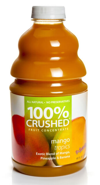 Dr. Smoothie 100% Crushed Mango Tropics Smoothie Concentrate (46oz bottle)