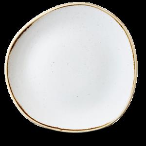 Churchill STONECAST Organic Round Plate Barley White Teller Platte 28,6 cm weiß