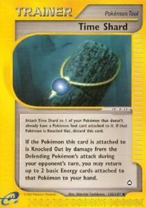 Time Shard  -  135/147  - Uncommon NM Aquapolis Pokemon 2B3