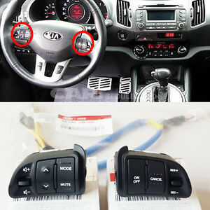 KIA-2011-2014-Sportage-Steering-Wheel-Remote-Control-amp-Extension-Wire-3EA-1SET