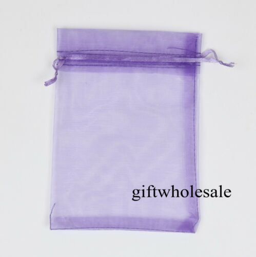 25 50 100 Organza Gift Bags Jewellery Christmas Pouches Wedding Party Favour