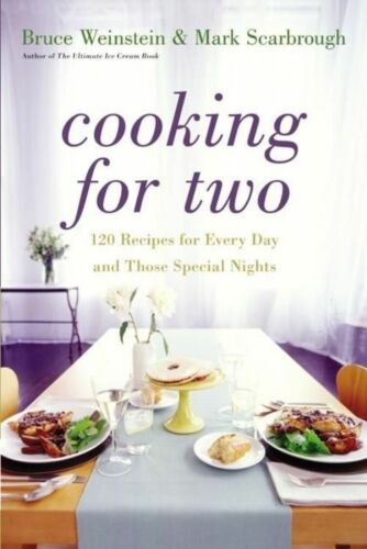 1 of 1 - Cooking for Two: 120 Recipes for Every Day and Those Special Nights-ExLibrary