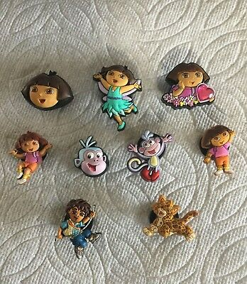 Dora the Explorer Characters DIEGO BOOTS Authentic Jibbitz Charm for Croc Shoes